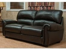 Cambridge 3 Seater Leather Sofa Suite Available In
