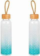 Cambridge® COMBO-5406 Scope Glass Water Bottles