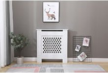 Cambridge living room white modern radiator cover