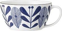 Camellia porcelain mug