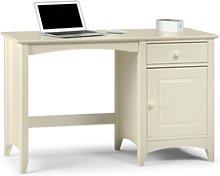 Cameo Dressing Table Desk Cream Lacquered Finish