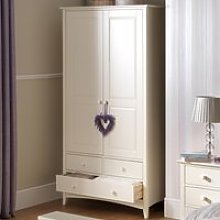 Cameo Stone White Combination Wardrobe