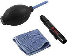 Camera Accessories Cleaning Cloth Brush and Air