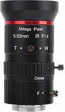Camera Lens, Aluminum Alloy Zoom Security Camera