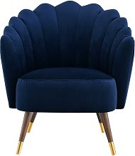 Camille Scallop Tub Chair Julian Joseph Upholstery