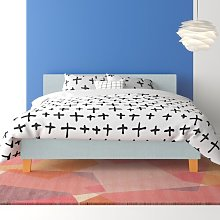 Camire Upholstered Bed Frame Hashtag Home Size: