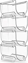 Camisin Refrigerator Wine and Water Bottle Rack,