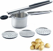 CAMKYDE Potato Ricer Potato Masher, Stainless