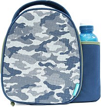 Camo Lunch Bag and Bottle - 500ml