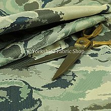 Camouflage Pattern Multi Coloured Blue Grey
