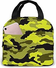 Camouflage Reusable Lunch Bag Insulated Cooler