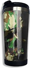 Camouflage Skull Vacuum Insulated Stainless Steel