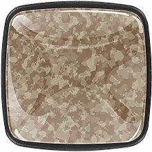 Camouflage Texture [4 PCS]Decorative Cabinet