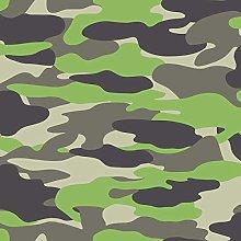 Camouflage Wallpaper Army Camo Grey Green Children
