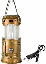Camp Lamp Multifunction Solar Led Portable
