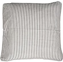 Campagne Table Linen Pillow Stripe Grey