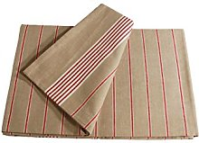 Campagne Table Linen Table Cloth Picnic red