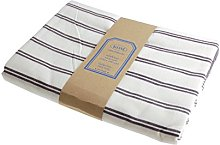 Campagne Table Linen Table Cloth Stripe Blue