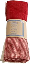 Campagne Table Linen Towels red
