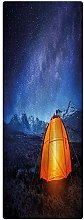 Camper Indoor/Outdoor Runner Rug, 2'x4',