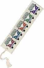 CAMPERVANS BOOK MARK CROSS STITCH KIT BY TEXTILES