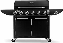 Campfire 6+1 Gas Burner Grill BBQ Barbecue with