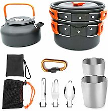 Camping Cooking Set Cookware Kit Outdoor