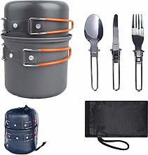 Camping Cookware Hiking Outdoors 1-2 People