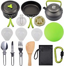 Camping Cookware Kit Outdoor Lightweight Camping