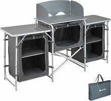 Camping Kitchen 172x52x104cm - camping kitchen