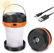 Camping Light, USB Rechargeable Portable Lantern,