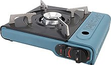 Camping Portable Gas Stove, Caravan and Camping Cooker, Adjustable Camping Stove for Deck Parties, Table Top Cooking, Boating