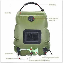 Camping solar shower bag 20L outdoor portable bath