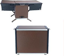 Camping Storage Organizer, Folding Grill Table,
