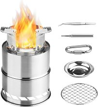 Camping Stove, Foldable Small Portable Stainless