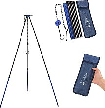 Camping Stove Tripod (Blue)Portable Outdoor