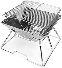 Camping supplies, Folding Campfire Grill Stainless