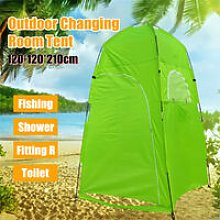 Camping Tent 120*120*210cm Green Portable PopUp