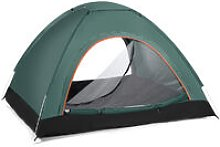 Camping Tent 200*120*150cm Dark Green 2-3 Person