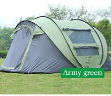 Camping Tent 280*120*200cm Armygreen 5-8 Person