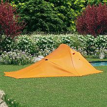 Camping Tent 317x240x100 cm Orange and