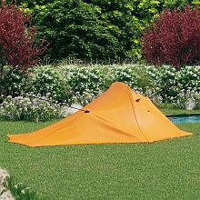 Camping Tent 317x240x100 cm Orange and Grey