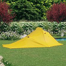 Camping Tent 317x240x100 cm Yellow