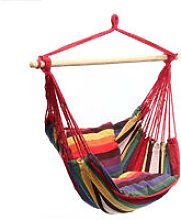 Camping Tent Hanging Hammock Chair 120KG Red Home