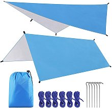 Camping Tent Tarp 3 * 3m Waterproof Windproof