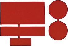 CAMPZ Nylon Repair Patches 5 pcs. dark red 2021
