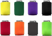 Can Coolers Sleeves Neoprene,8 PCS DIY Projects