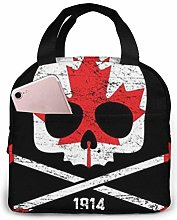 Canada Hockey American Craft Beer Lunch Tote Bag