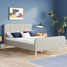 Canchola Upholstered Bed Frame Hashtag Home