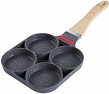 CANDeal Aluminum 4-Cup Egg Frying Pan Non Stick